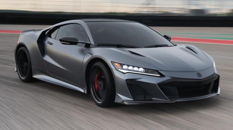 Honda NSX Type S ขุมพลัง 600 แรงม้าเผยโฉมแล้วที่สหรัฐฯ จำกัดเพียง 350 คันเท่านั้น