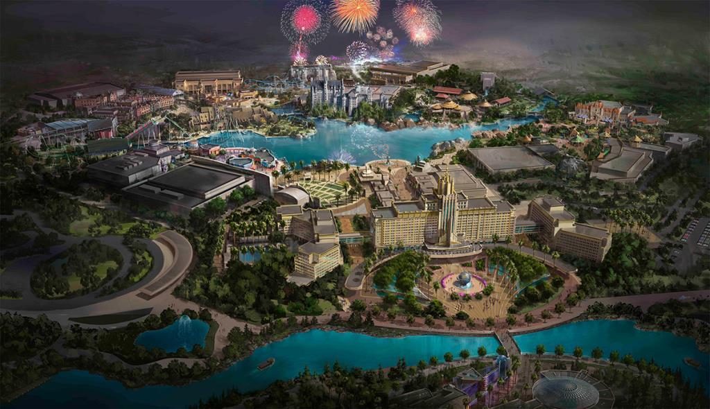 """""""ยูนิเวอร์แซล ปักกิ่ง รีสอร์ต"""" สวนสนุกแห่งใหม่ ใหญ่ที่สุดในโลก"""