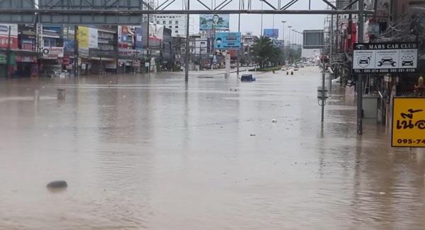 แฉเหตุน้ำท่วมซ้ำซากเมืองพัทยาเกิดจากปัญหาพื้นที่รับน้ำแปรสภาพเป็นโครงการอสังหาฯ