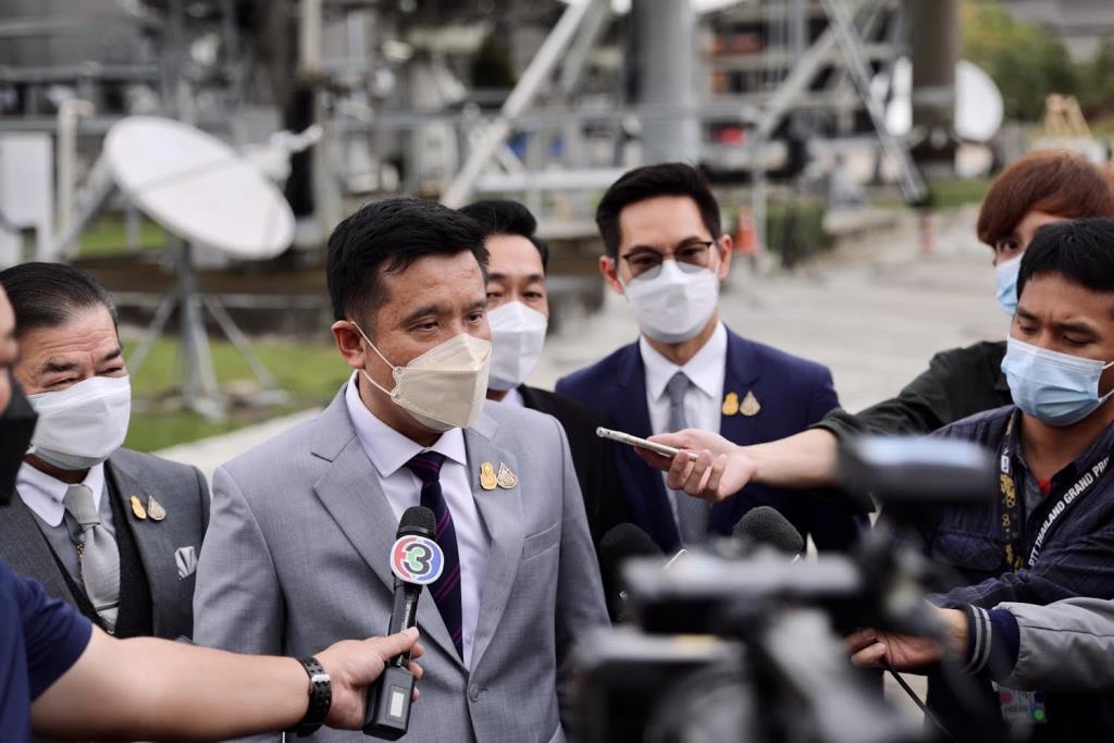 """""""ชัยวุฒิ"""" เคลียร์ปมไทยคมก่อนรับมอบสัญญาสัมปทาน  มั่นใจ NT บริหารดาวเทียมแห่งชาติได้"""