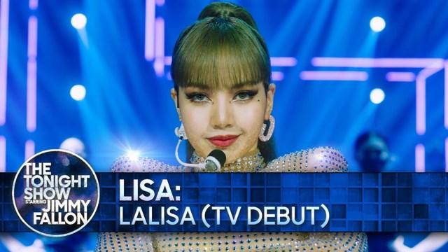 """""""ลิซ่า"""" เปิดตัวโชว์เต็มๆ LALISA ครั้งแรกผ่านรายการอินเตอร์ของ """"จิมมี ฟอลลอน"""" ทำแฟนๆว้าวมาก"""