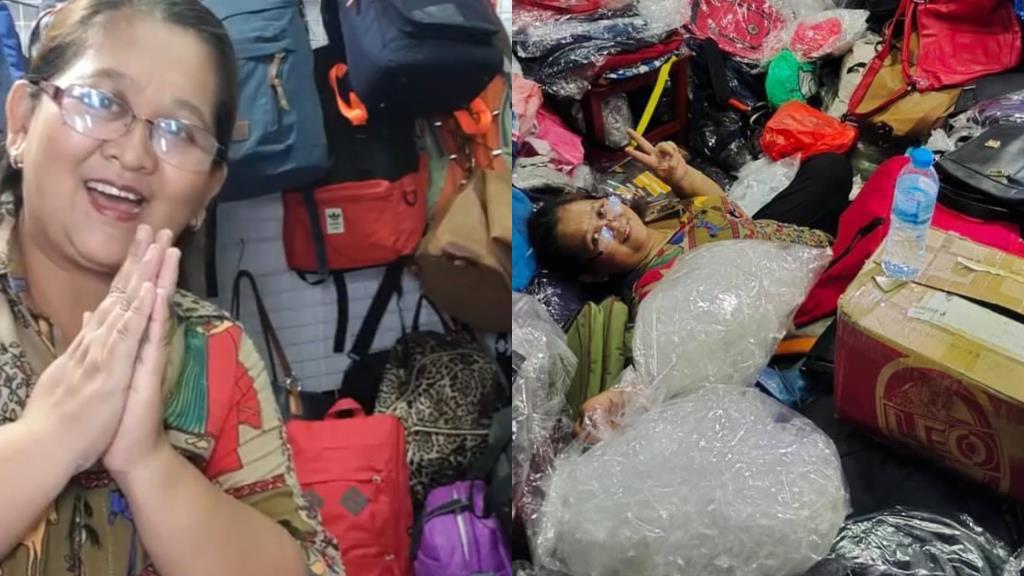 แม่ไม่ย่อท้อ! ไลฟ์ขายกระเป๋ามือสอง ไร้คนดูจนแอบร้องไห้ ลูกสาวรู้ช่วยแชร์ยอดขายพุ่ง