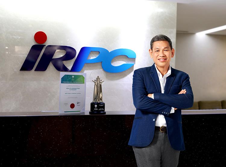 IRPC คว้ารางวัล AREA 2021 สาขา Health Promotion