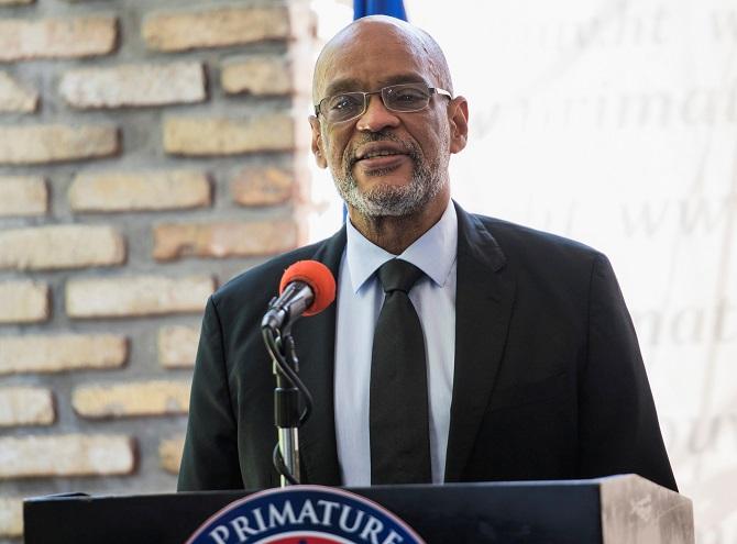 นายกรัฐมนตรีอาเรียล อองรี แห่งเฮติ