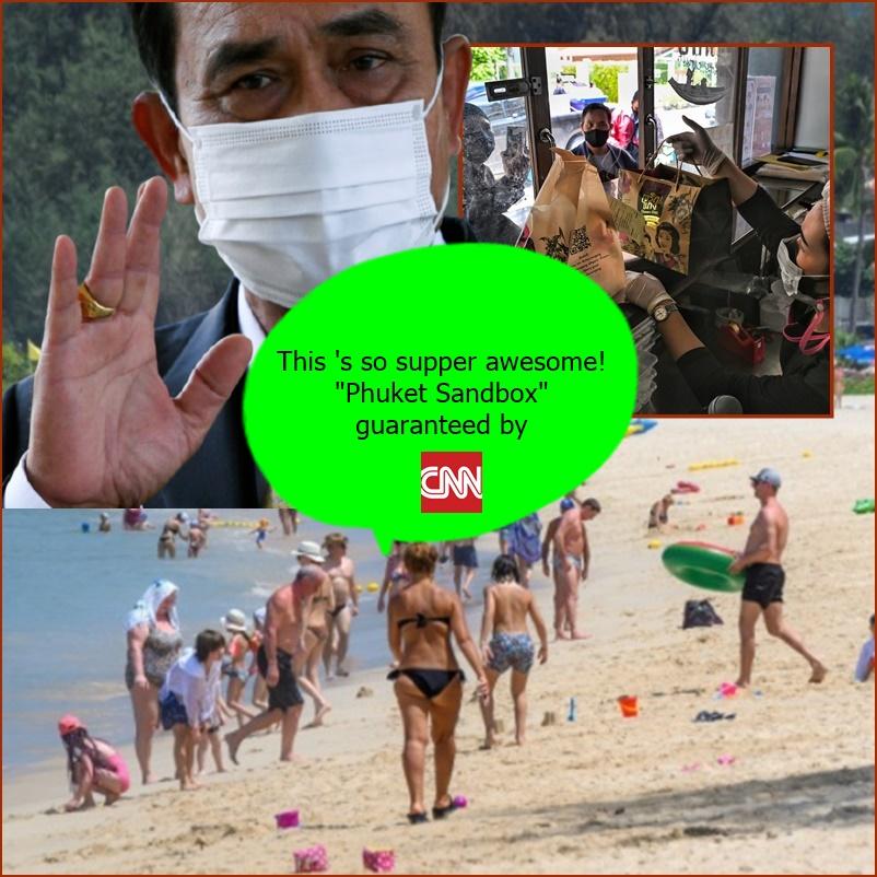 """ฮือฮา! CNN รายงาน """"ไทย"""" กลายเป็น 1 ใน 5 ในประเทศทั่วโลกที่เปิดประเทศและประกาศนโยบาย """"อยู่ร่วมกับโควิด-19"""""""