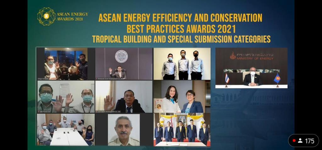 ธพส.,ttb คว้ารางวัล ASEAN Energy Awards 2021