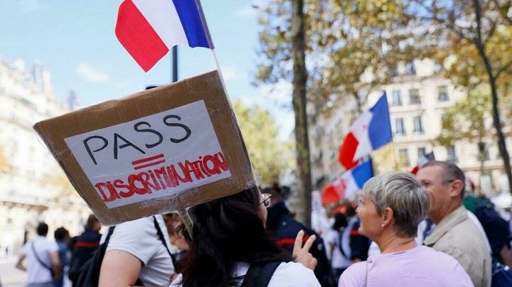 ฝรั่งเศสพักงานจนท.สาธารณสุขกว่า3พันคน ฝ่าฝืนคำสั่งไม่ยอมฉีดวัคซีนโควิด-19