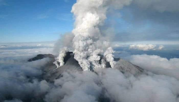 ภูเขาไฟโอตาเกะ ในภาคตะวันตกเฉียงใต้ของญี่ปุ่น (แฟ้มภาพ)