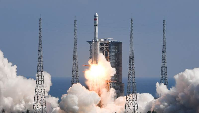 (ชมภาพ/คลิป) จีนส่งยานขนสัมภาระ 'เทียนโจว-3' หนุนสร้างสถานีอวกาศสำเร็จ