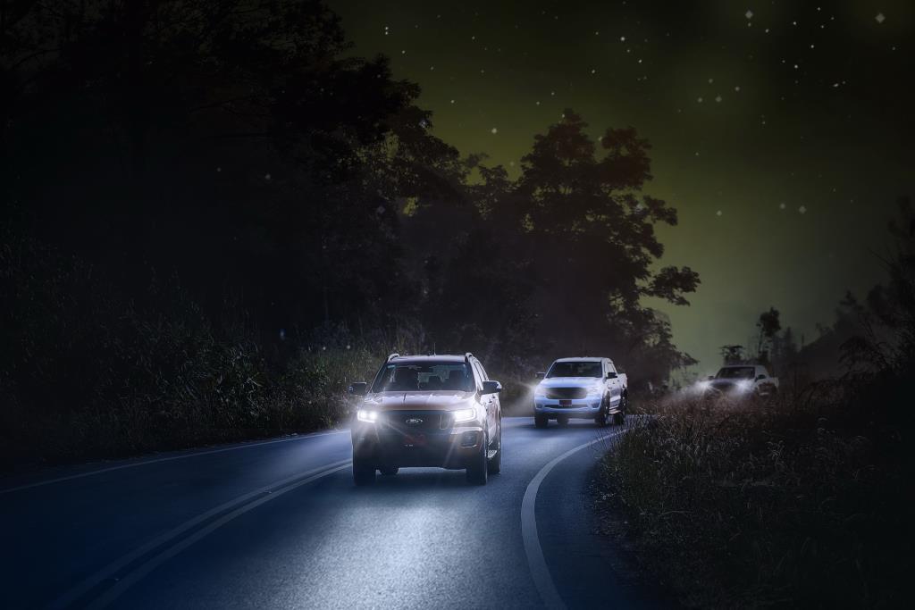 ฟอร์ด แนะเคล็ดลับขับขี่ปลอดภัยในเวลากลางคืน