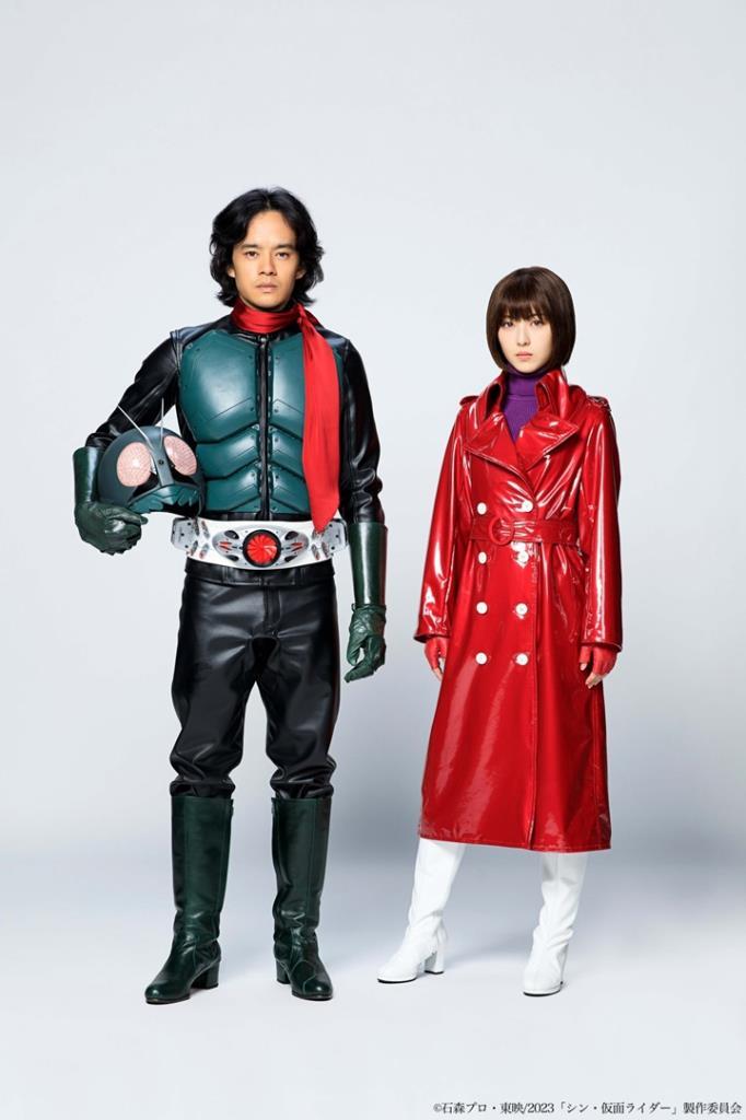 """ตัวอย่างใหม่หนัง """"Shin Kamen Rider"""" พร้อมประกาศนักแสดงนำ"""