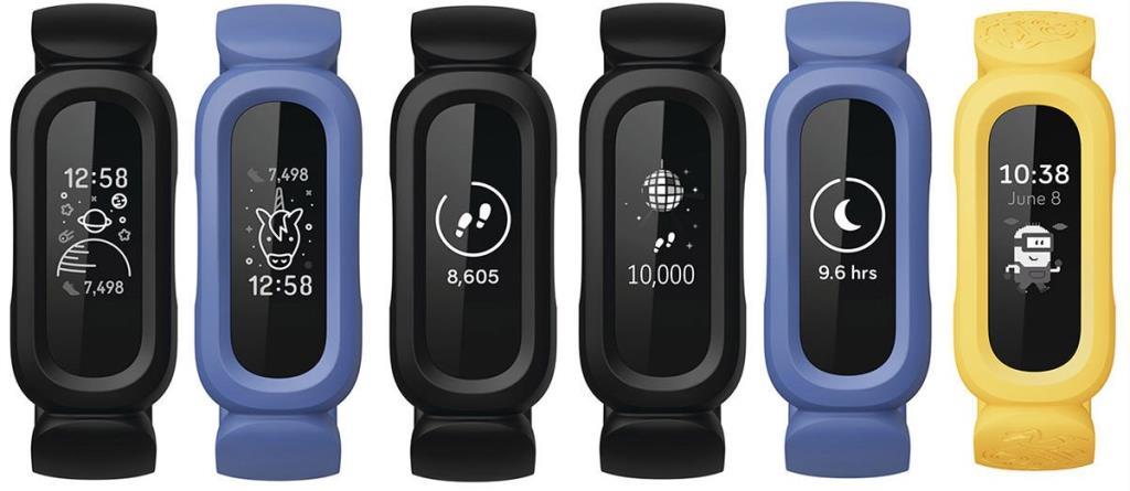 หน้าปัดหลากหลายของ Fitbit Ace 3
