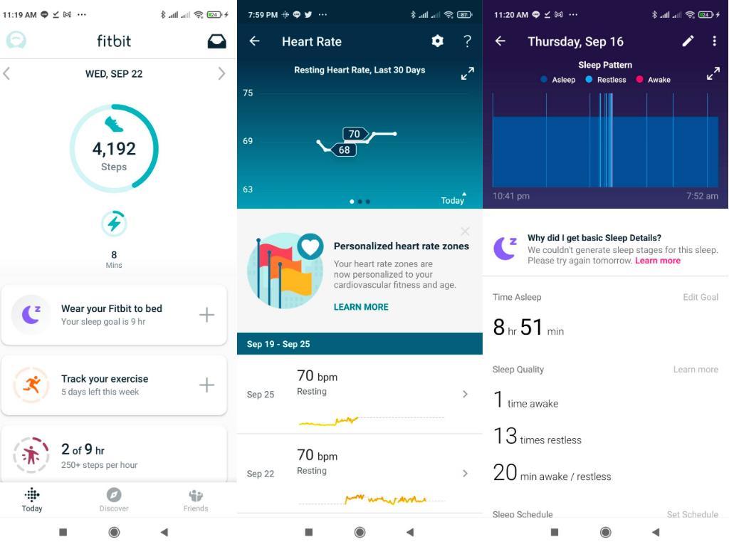 ผู้ใช้ Fitbit Luxe? ?สามารถใช้งานฟีเจอร์ด้านสุขภาพ?ที่ Health Metrics Dashboard ในแอปพลิเคชัน