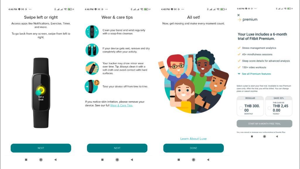 หลังจากช่วงทดลองใช้ 6 เดือน บริการ Fitbit Premium เปิดให้บริการโดยราคาอยู่ที่ 300 บาทต่อเดือน หรือ 2,500 บาทต่อปี