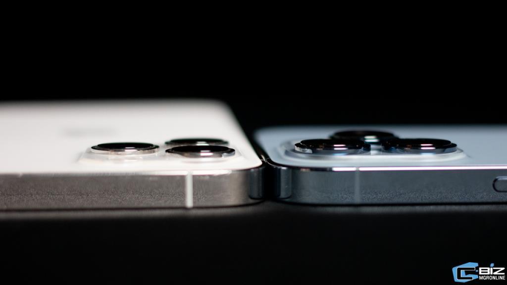 กล้องของ iPhone 13 จะมีความหนาขึ้น เมื่อเทียบกับ iPhone 12