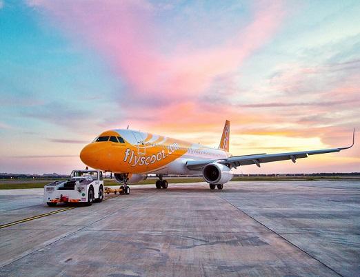 """สายการบินสกู๊ตกลับมาเปิดบิน """"ภูเก็ต-สิงคโปร์"""" อีกครั้งตั้งแต่ 8 ต.ค. 64 มั่นใจ """"ภูเก็ตแซนด์บ็อกซ์"""" กระตุ้นเดินทาง"""