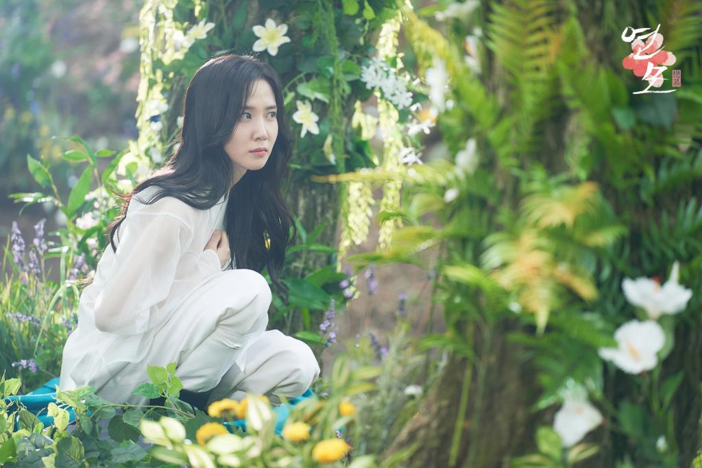 รัชทายาทอีฮวี (พัคอึนบิน) ได้เจอกับ จองจีอุน (โรอุน) กลางป่า