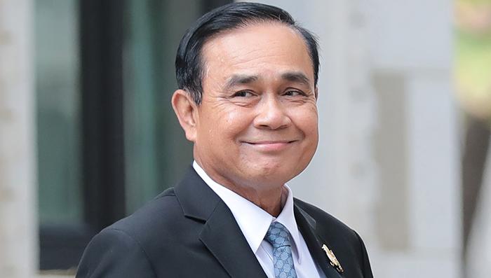 พลเอก ประยุทธ์ จันทร์โอชา นายกรัฐมนตรี และ รัฐมนตรีว่าการกระทรวงกลาโหม