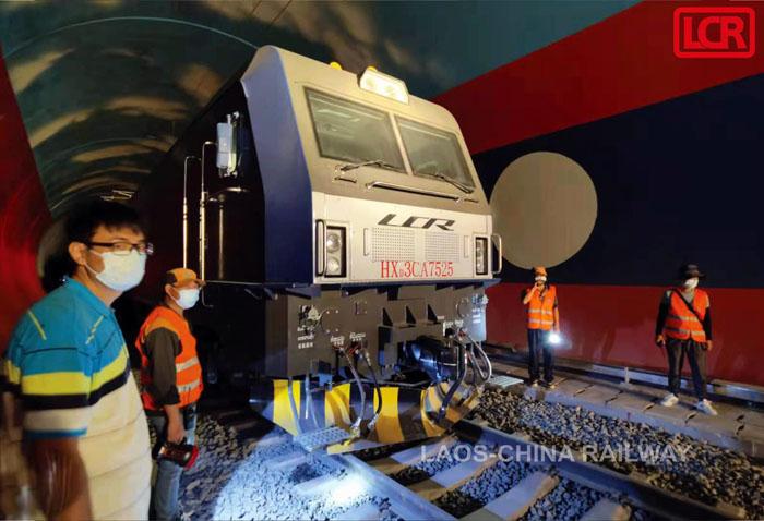 """รบ.ลาว ตั้งชื่อรถไฟ """"ล้านช้าง-แคนลาว"""" ขบวนแรกข้ามจากจีนถึงบ่อเต็น 14 ต.ค."""