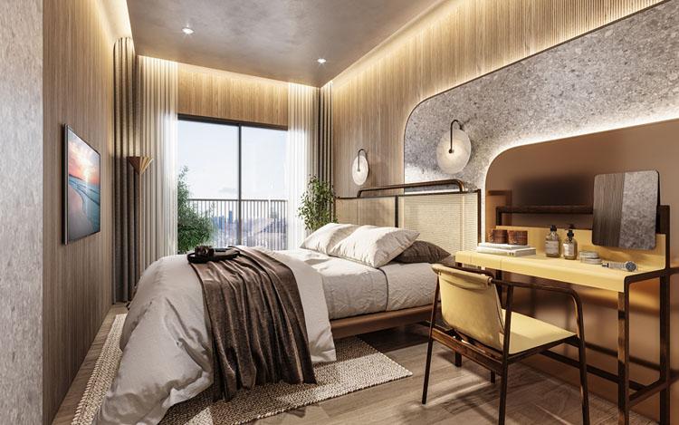 Simplex 30SQM BED