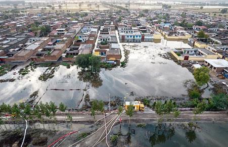 น้ำท่วมใหญ่ที่จีน