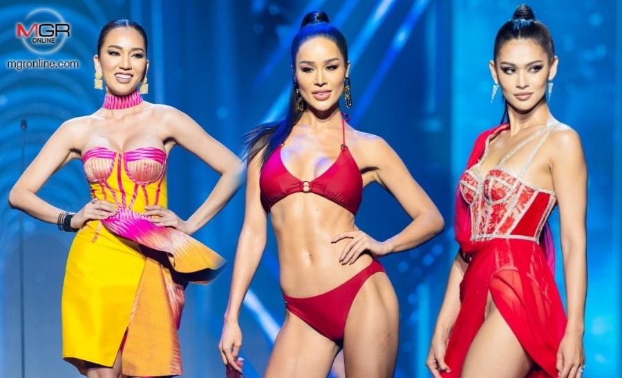 เดือดโค้งสุดท้าย! 30 สาว MUT 2021 ประชันชุดว่ายน้ำ-ชุดไทย-ชุดราตรี รอบพรีลิมฯ