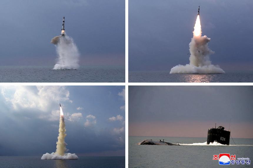 Weekend Focus: เกาหลีเหนือโชว์ยิง 'ขีปนาวุธจากเรือดำน้ำ' รุ่นใหม่ โว 'สกัดได้ยาก' ขึ้น ทำเอเชียตะวันออกระส่ำ