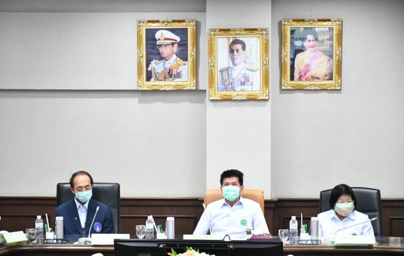 รมช.สาธิต หนุนการแพทย์แผนไทย การแพทย์ทางเลือก และสมุนไพรไทย ช่วยฟื้นฟูประเทศหลังโควิด-19