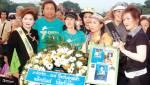 ร้อยบุปผาบานสะพรั่ง ร้อยพลังหญิงไทยสู่การเมืองใหม่