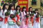 นักเรียนเวียดนาม 22 ล้าน เปิดเทอมอย่างเบิกบาน มีสีสัน