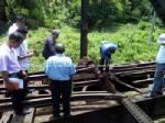 เริ่มซ่อมรางรถไฟนราธิวาสหลังถูกวางบึ้ม - ทหารสอบ 4 ผู้ต้องสงสัยร่วมก่อเหตุ