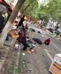 """""""ก่อการร้าย"""" อุกอาจกลางตลาดสดใน """"ซินเจียง"""" ชุมชนมุสลิมใหญ่ที่สุดในจีน ดับ 2 เจ็บอื้อ"""