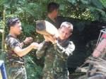 อานิสงส์กฎอัยการศึก ทหารตรวจยึดไม้ชิงชัน 50 ท่อนซุกป่าละเมาะริมน้ำโขง