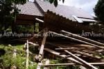 พายุกระหน่ำพัทลุงต้นไม้ใหญ่หักโค่น บ้านเรือนพังหลายหลัง