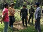 เจ้าหน้าที่ร้อย รส.ทร.ที่ 11 ร่วมป่าไม้ตราด จับกุมผู้ลักลอบบุกรุกป่าบนเกาะกูด