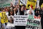 """In Pics:  ฝูงชนทั่วฝรั่งเศส - สหรัฐฯ ตบเท้าชุมนุมต้านปฏิบัติการทหารอิสราเอล - ตราหน้านายกฯ ยิวเป็น """"ฮิตเลอร์"""""""
