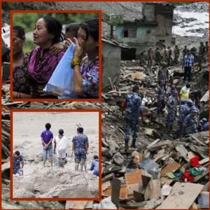 """""""น้ำท่วมใหญ่เนปาล"""" ดับอย่างน้อย 85  สูญหายอีก 113 หวั่นเกิดอหิวาฯระบาดหลังศพจมอยู่ใต้น้ำจำนวนมาก"""