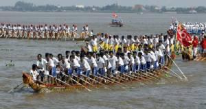 หลังเว้นไป 3 ปี  ปีนี้เขมรจัดแข่งเรือเทศกาลน้ำอีกครั้ง