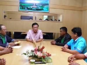 เครือข่ายชาวสวนยางพาราพังงายื่นหนังสือถึงรัฐบาลแก้ปัญหาราคาตกต่ำ