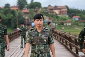 """ทหารเตรียมลงมือซ่อมสะพานมอญ 10 ก.ย.นี้ พบไม้ปูพื้นที่ """"ป.รุ่งเรือง"""" ทำไว้ไม่ได้มาตรฐาน"""