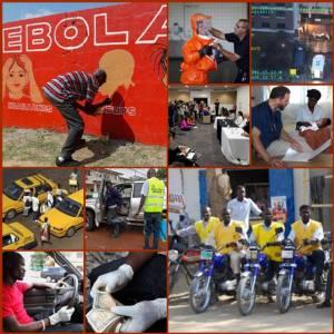 """In Pics : WHO เตือน """"วินมอเตอร์ไซด์ - แท็กซี"""" กระจายเชื้ออีโบลาระบาดแบบยกกำลังในไลบีเรีย"""