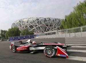 เปิดตัว Formula E ทัวร์นาเมนต์รถแข่งขับเคลื่อนด้วยไฟฟ้าที่ปักกิ่ง