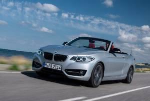BMW 2 Series Convertible เปิดหลังคารับลมเย็น