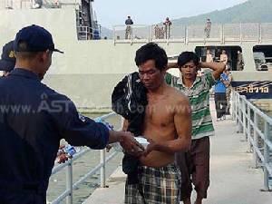 ทัพเรือภาคที่ 2 จับเรือเวียดนาม 6 ลำ พร้อมลูกเรือ หลังลักลอบทำประมงนานน้ำไทย (ชมคลิป)