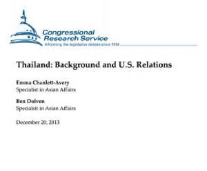 คัมภีร์ที่นักการเมืองสหรัฐอเมริกายึดเป็นสรณะเมื่อจะต้องตัดสินใจเกี่ยวกับประเทศไทยตอนที่ 1