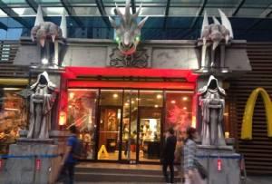 จีนไอเดียเก๋ แต่งร้านจานด่วนตีมเวิลด์ออฟวอร์คราฟต์