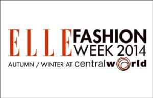 ปล่อยของดีไซเนอร์ไทย Elle Fashion Week 2014 Autumn Winter