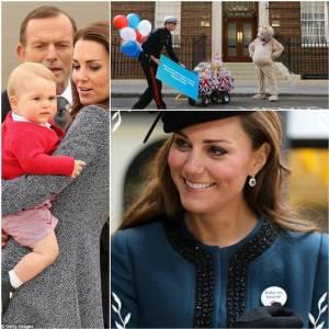 """สำนักพระราชวังอังกฤษประกาศ  """"กำหนดพระประสูติกาล"""" ของเจ้าหญิงเคท"""
