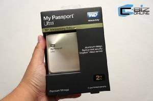 Review : WD My Passport Ultra รุ่นครบรอบ 10 ปี ปรับดีไซน์ แข็งแกร่งด้วยอลูมิเนียม