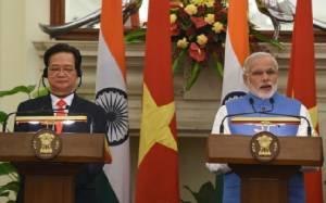 ผู้นำอินเดียระบุขายเรือตรวจการณ์ให้เวียดนามเสริมการป้องกันทางทะเล